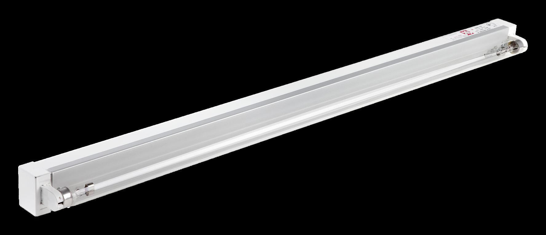 Бактерицидный настенный облучатель ОБН-150 открытый (одноламповый)