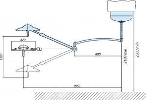 Схема потолочного светодиодного светильника 300