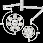 Светильник операционный потолочный «ЭМАЛЕД 500/300»