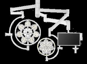 Светильник операционный потолочный светодиодный ЭМАЛЕД 500 300