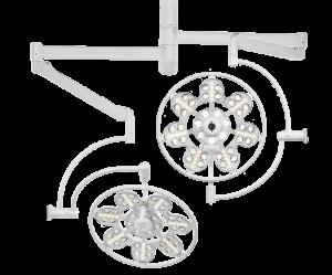 Светильник операционный потолочный светодиодный ЭМАЛЕД 500 500