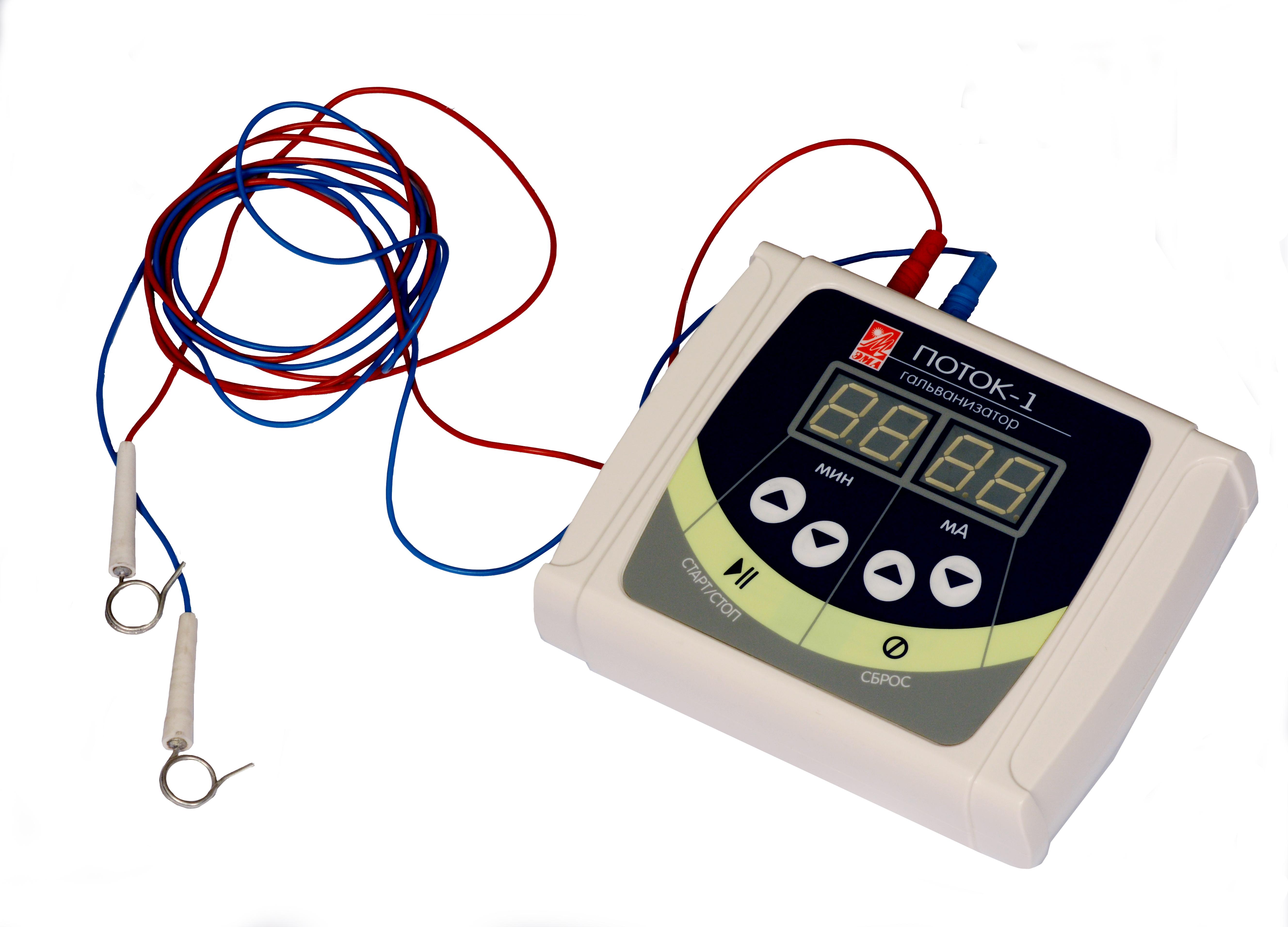 Физиотерапия: Аппарат «Поток 1».