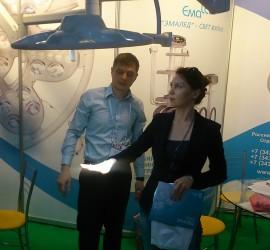 Фото с выставки Казахстан KIHE