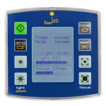 Пульт управления медицинским светильником