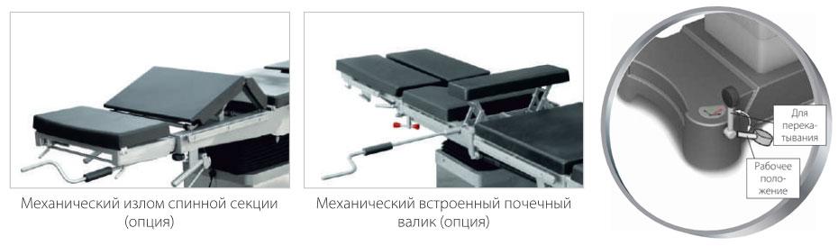 Стол хирургический универсальный ОК ЭПСИЛОН (ОУК 01)