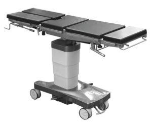 Стол операционный универсальный ОК ГАММА МОБИЛ 01 с функцией бокового наклона панели и изломом спинной секции