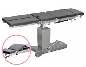 Стол операционный общехирургический ОК ГАММА 03 с опцией механического излома спинной секции (101.301А)