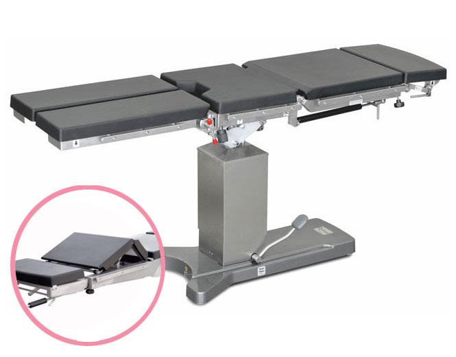 Стол операционный общехирургический ОК ГАММА с опцией механического излома спинной секции