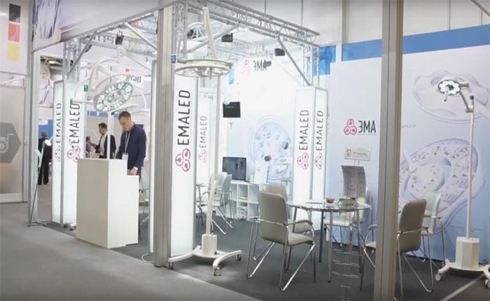 Участие завода ЭМА на выставке Здравоохранение-2018 г.Москва