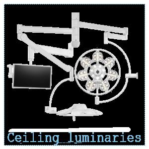 Ceiling luminaries