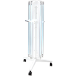 Bactericidal irradiator BIM OBPE-450 six-tube mobile